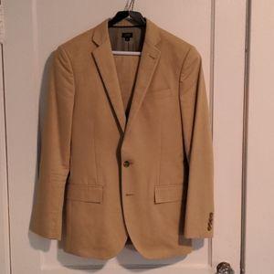 J. Crew Ludlow Italian Chino Suit